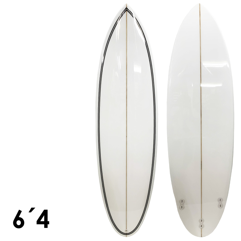 NO LOGO ノーロゴ SHORT 6'4 サーフボード ショートボード サーフィン EPS ピンライン フィン付属
