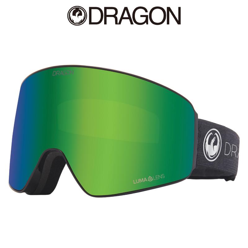 DRAGON ドラゴン PXV メンズ レディース 20-21 スキー スノーボード ゴーグル パノテック フレームレス スーパーアンチフォグ2.0 ヘルメット対応 ラージフィット ジャパンフィット 平面レンズ ECHO SILVER LL J.GREEN ION