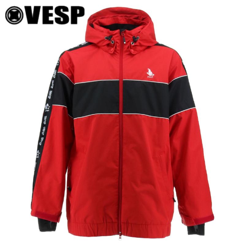 VESP ベスプ ATHRE LIGHT LINE JACKET メンズ 20-21 スキー スノーボード ウェア ジャケットVPMJ1004 RED Lサイズ