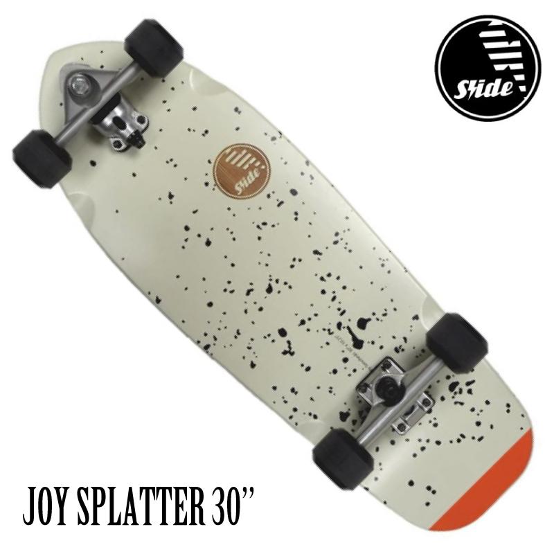 """SLIDE SURF SKATEBOARDS スライド サーフスケートボード JOY SPLATTER 30"""" スケート スケボー サーフ スケートボード"""