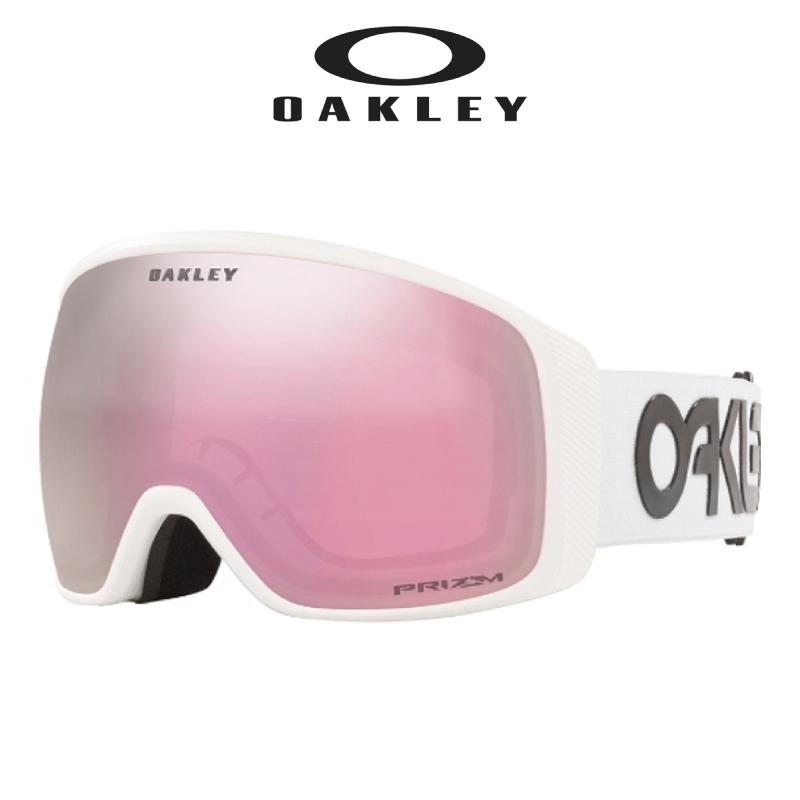 OAKLEY オークリー FLIGHT TRACKER XL フライトトラッカーエックスエル メンズ レディース 20-21 スキー スノーボード ゴーグル 眼鏡対応 LARGE FIT ラージフィット FACTORY PILOT WHITE Prizm™ Hi Pink Iridium®