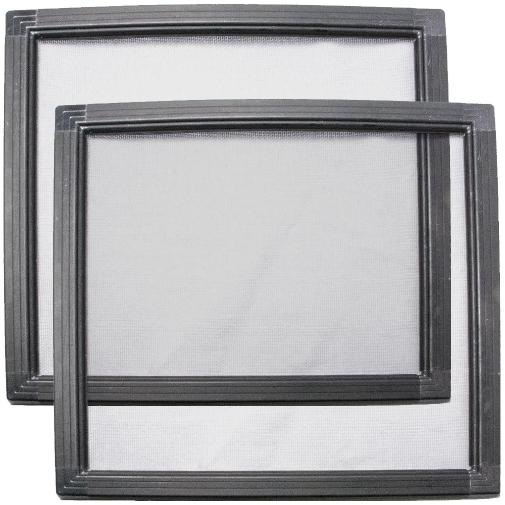 200系 ハイエース 4型 5型 6型 [H25.12-] 車種専用網戸 アミDOエース 2枚セット 窓開閉可能