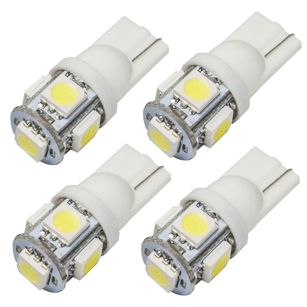 簡単ドレスアップ!ポジション ナンバー灯 RG ステップワゴン LEDドアカーテシランプ T10 ドア足元灯 4個セット