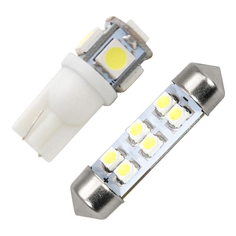 交換だけの簡単取付 ホワイト発光で車内を明るく照らす LED SMD ルームランプセット ストアー 簡単 交換 ハイゼットカーゴ S320系 前期 極LEDルームランプ 純正球交換型 2点セット 返品交換不可 H16.12-19.12