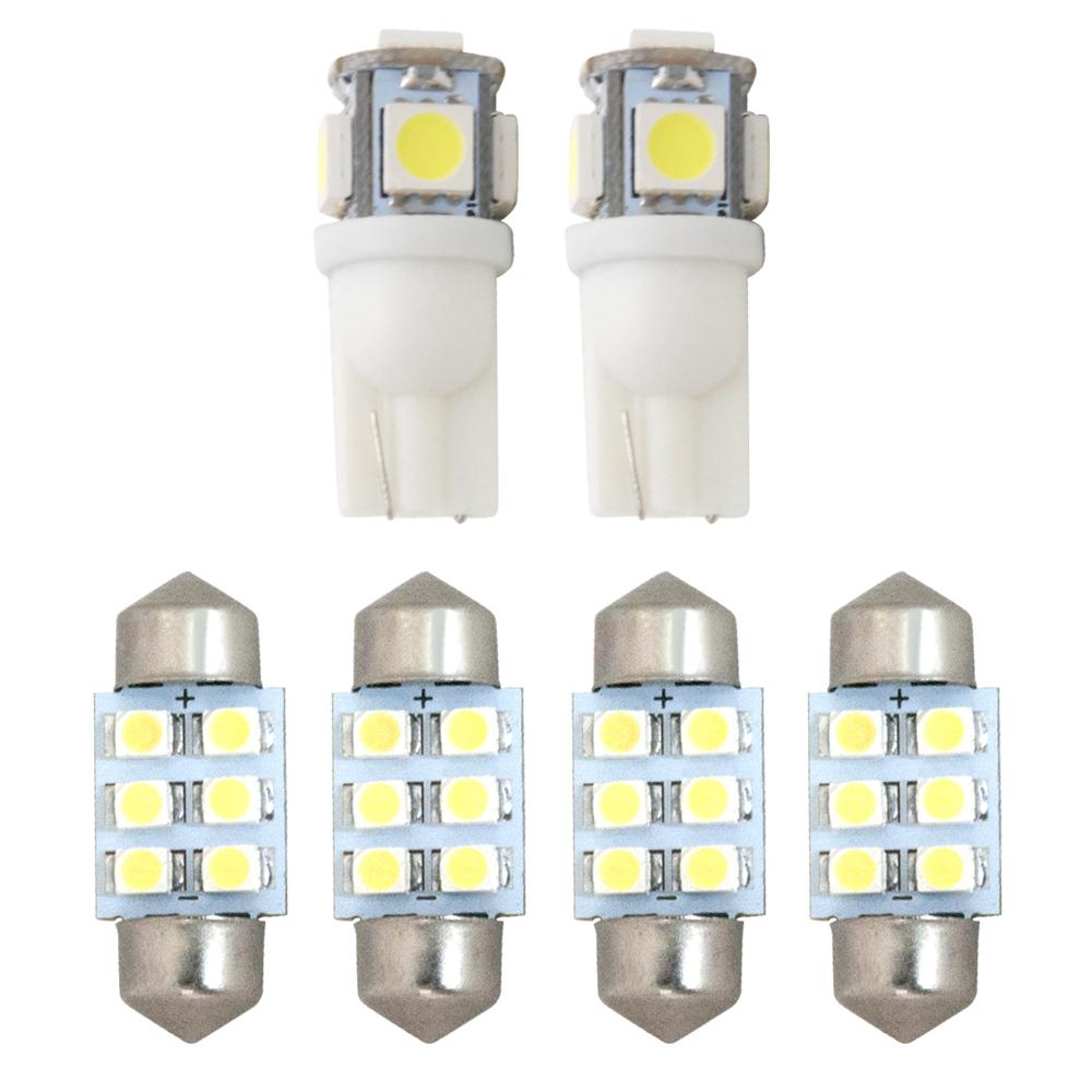 推奨 交換だけの簡単取付 ホワイト発光で車内を明るく照らす LED SMD ルームランプセット 簡単 交換 RK1 6点セット 2 純正球交換型 人気 おすすめ 極LEDルームランプ H21.10- ステップワゴン