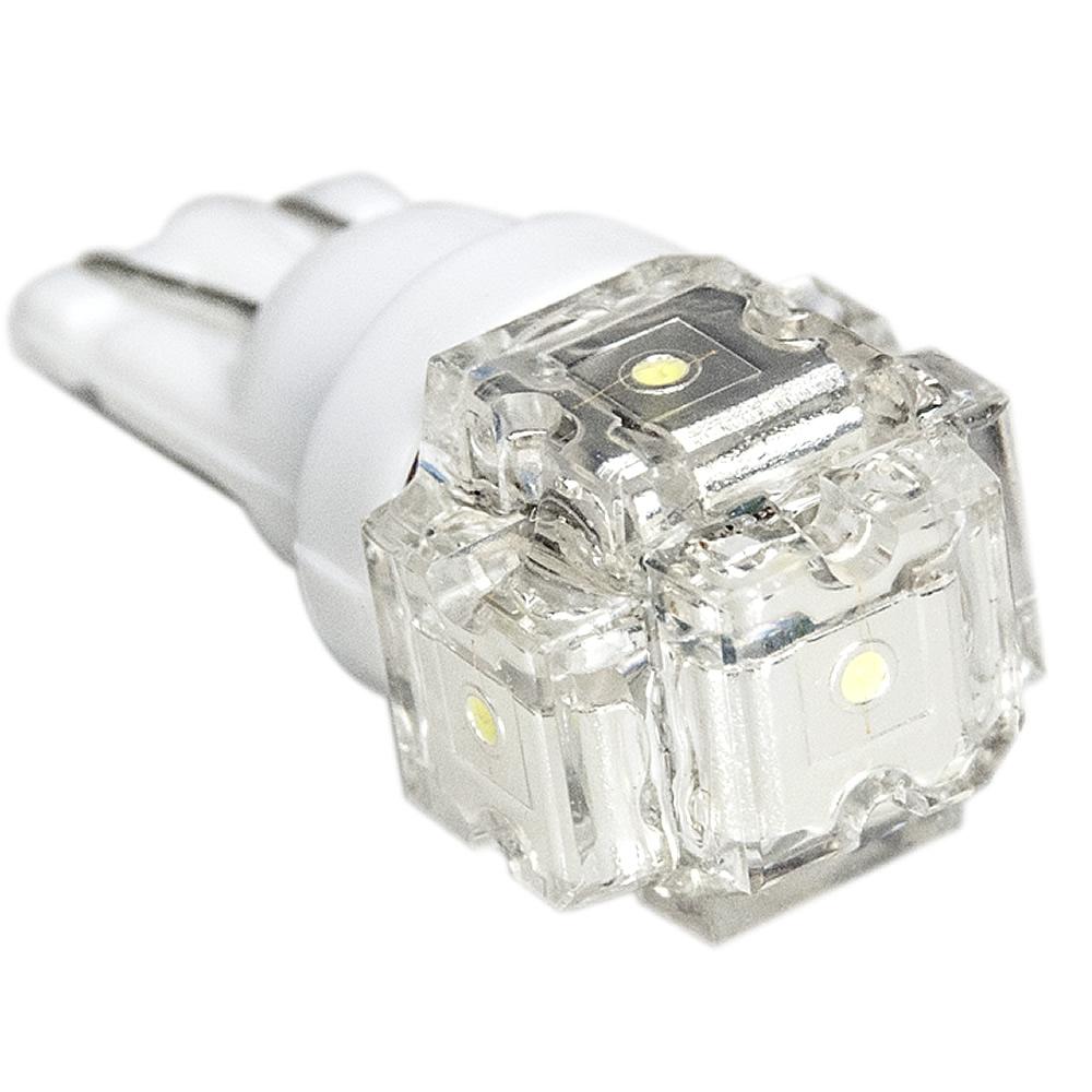 ☆国内最安値に挑戦☆ ポイント消化 ポイント利用 待望 お試し価格 LED 簡単取付 DIY ウェッジ球 T10 12V ホワイト FLUX5連