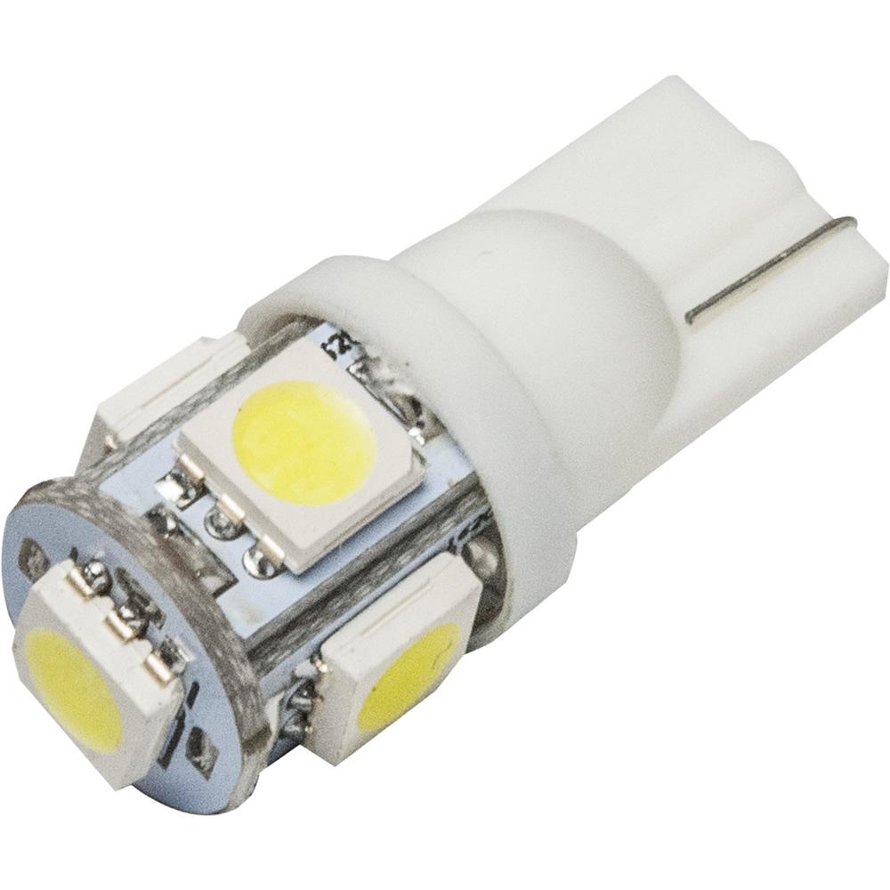 ポイント消化 ポイント利用 お試し価格 超安い LED 簡単取付 DIY ウェッジ球 12V 好評受付中 T10 ホワイト SMD5連
