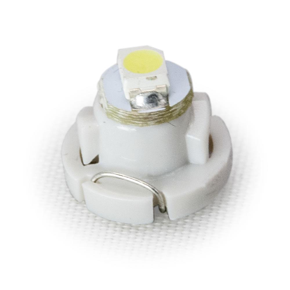 ポイント消化 ポイント利用 お試し価格!LED 簡単取付 DIY 12V T4.2 マイクロ LED ※カラーホワイト メーター球 麦球 ムギ球 エアコンパネル インパネ