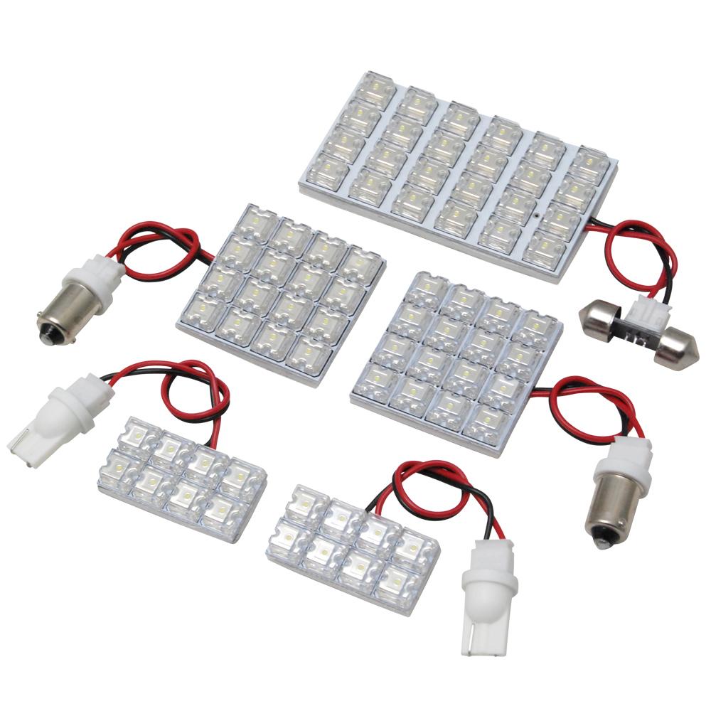 交換だけの簡単取付 市販 LEDで車内を明るく照らす LED ルームランプセット 車内灯 簡単 RIDER0044 クラウンマジェスタ RIDE GS170系 LEDルームランプ 5点 72発 H11.9-H16.6 JZS お洒落