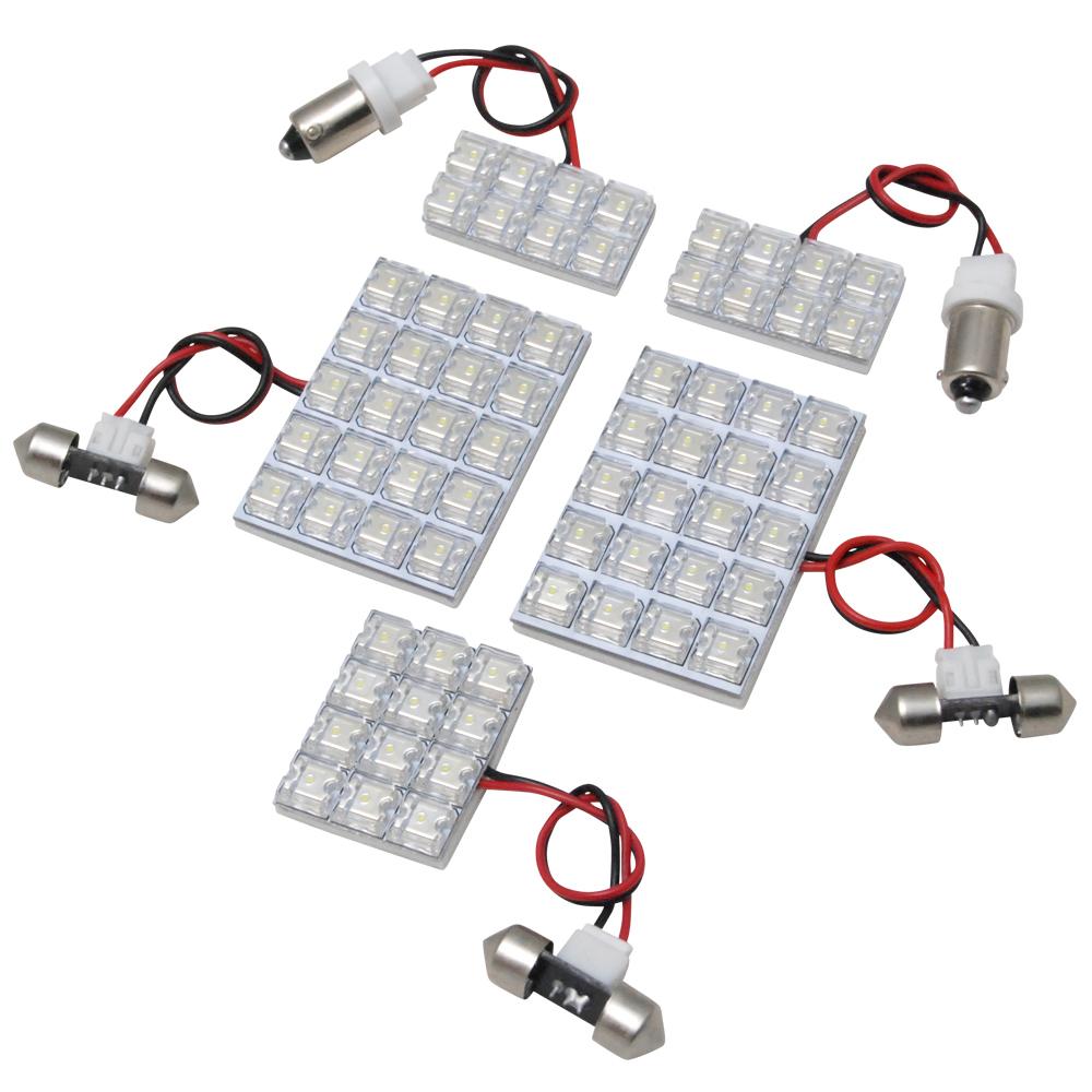 交換だけの簡単取付 LEDで車内を明るく照らす LED ルームランプセット 車内灯 簡単 RIDER0609 H13.11-H19.5 お求めやすく価格改定 5点 RIDE 68発 AZR60系 ノア LEDルームランプ 推奨