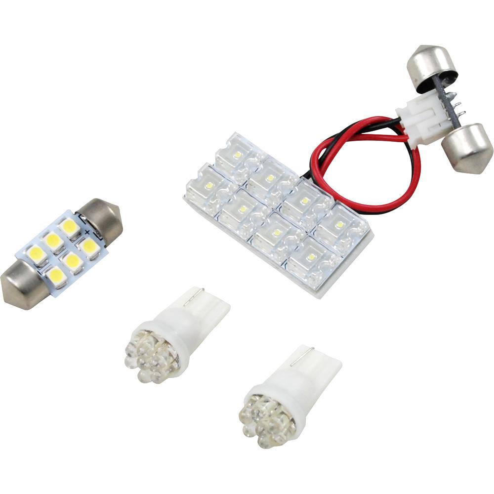 交換だけの簡単取付 LEDで車内を明るく照らす LED ルームランプセット 車内灯 簡単 RIDER0690 28発 LEDルームランプ H22.7- スーパーセール 4点 RIDE 祝開店大放出セール開催中 プレマシー CW系