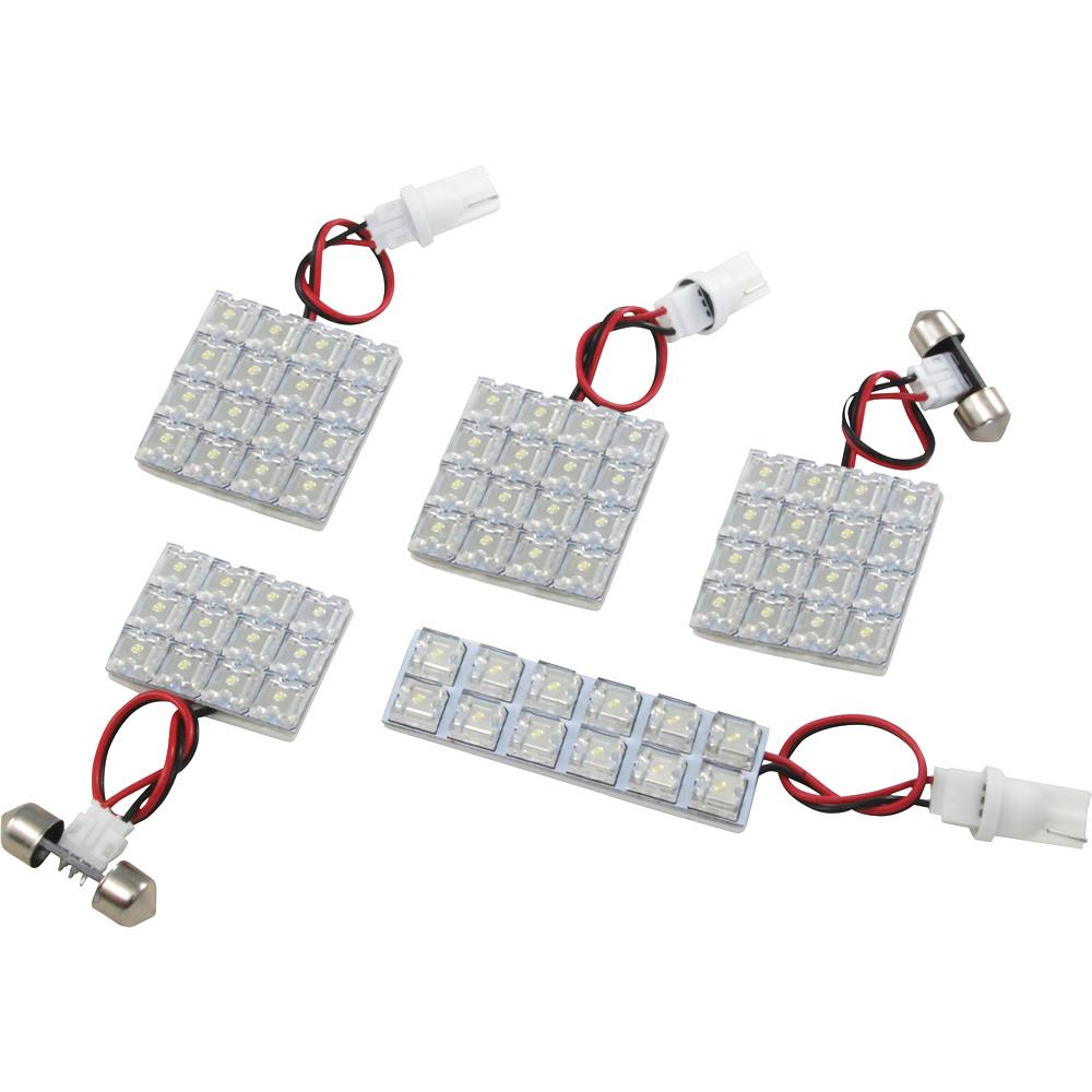 交換だけの簡単取付 LEDで車内を明るく照らす スピード対応 全国送料無料 LED ルームランプセット 車内灯 お得セット 簡単 RIDER0014 タント L375 H19.12-H25.10 385S 72発 RIDE 5点 LEDルームランプ