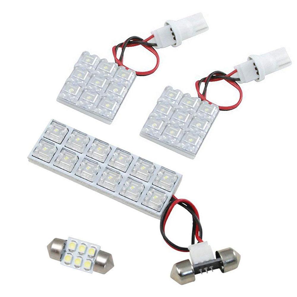 交換だけの簡単取付 LEDで車内を明るく照らす LED ルームランプセット 車内灯 簡単 RIDER0297 通信販売 CR系 プレマシー H17.2-H22.6 正規品送料無料 4点 LEDルームランプ RIDE 36発
