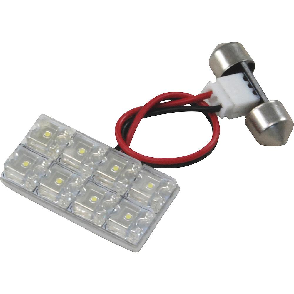 交換だけの簡単取付!LEDで車内を明るく照らす!LED ルームランプセット 車内灯 簡単 RIDER0765 コペン RIDE LEDルームランプ 8発 1点 L880K [H14.5-H24.9]