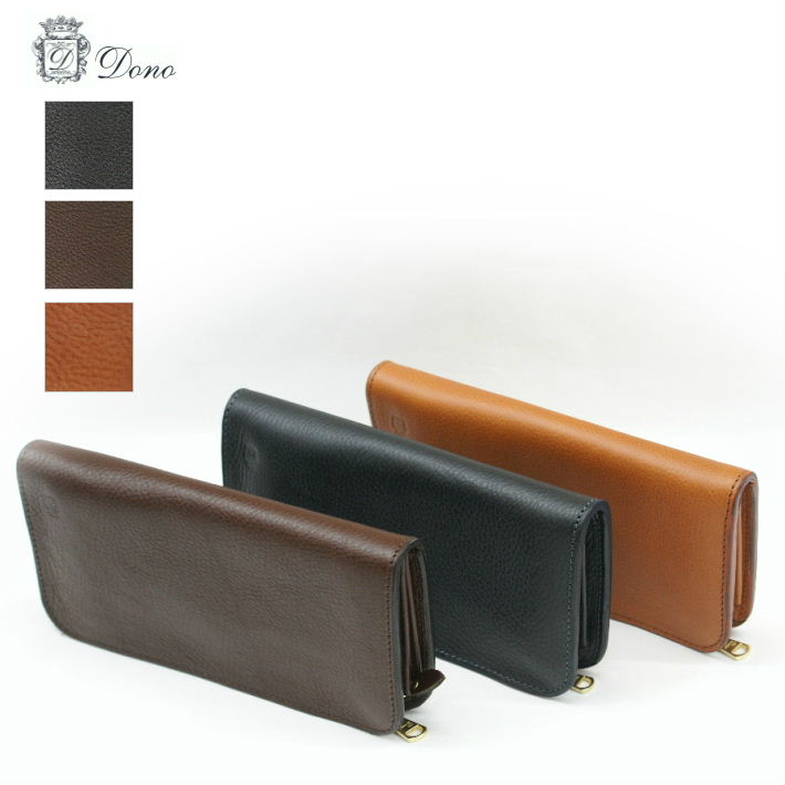 ドノ KGW00001DN 3color レザー 長財布 Dono LEATHER WALLET