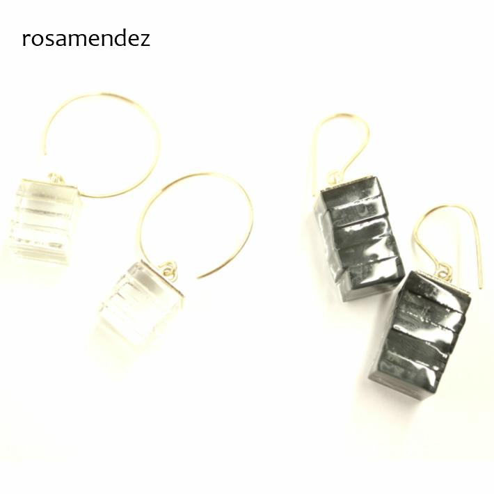 ローザ・メンデス ブラス ガラス ピアス アクセサリー 真鍮 BRASS×GRASS EARRINGS rosamendez 10R0068106 10R0068108