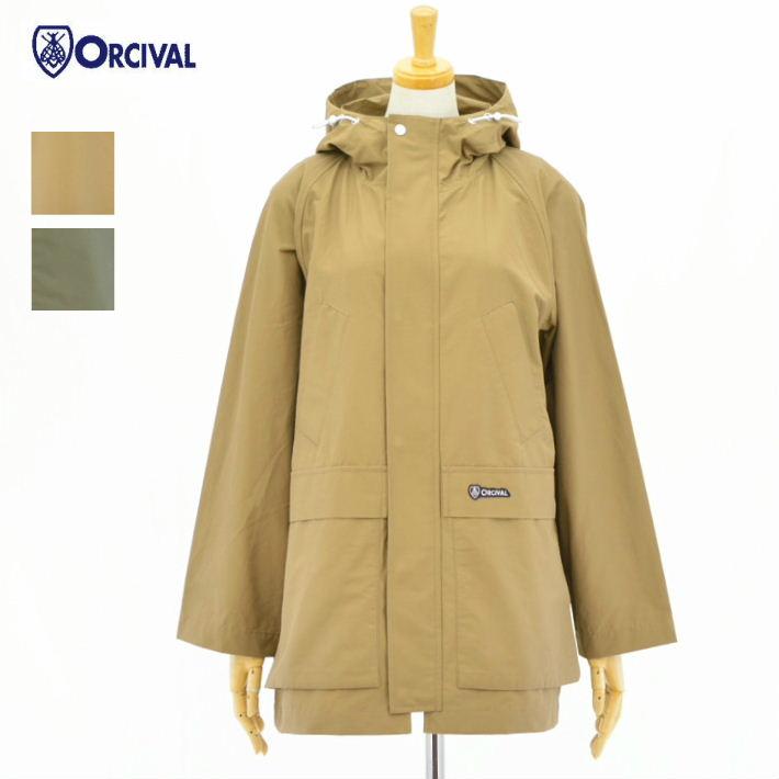 オーチバル・オーシバル RC-8958NNC 2color 60/40クロス マウンテンパーカー ORCIVAL LADIES 60/40CLOTH