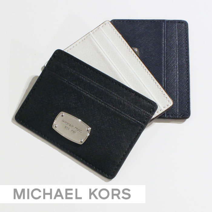 27efa177c458 ... MICHAEL KORS Michael Kors leather business card put the card case card  holder case sicker s