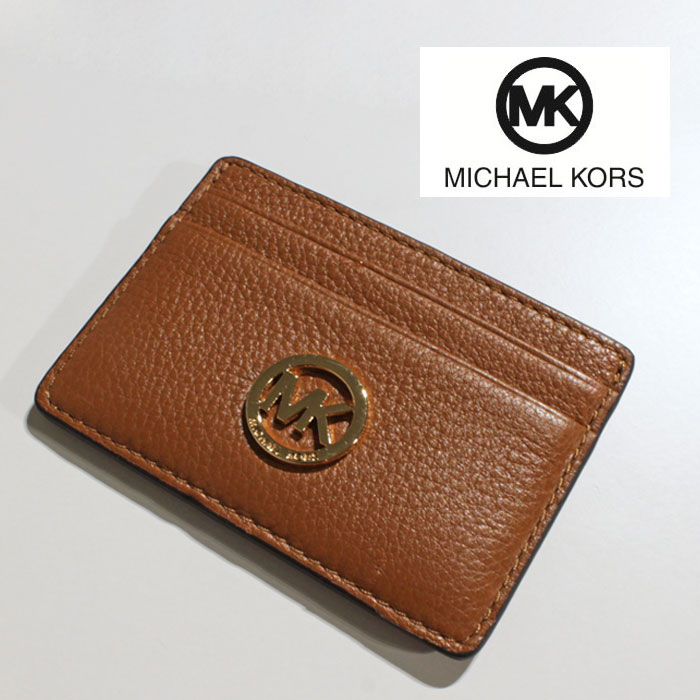 Infinityyokohama rakuten global market michael kors michael kors michael kors michael kors leather leather leather leather mk logo business card business card put the card case card holder case sicker s fulton 35h5gftd3l colourmoves