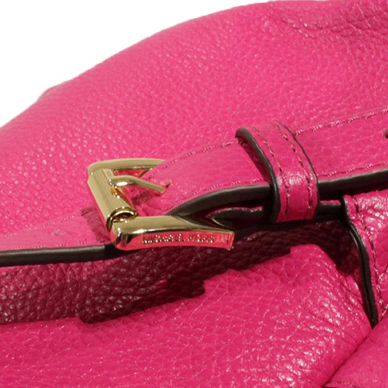 New Michael Kors MICHAEL KORS Backpack Backpack shopping bag 35c5gttb3l JET  SET ITEM LG BACK PACK FUSCHIA PINK pink leather leather LEATHER shoulder bag  ... 6050803b4cf1a