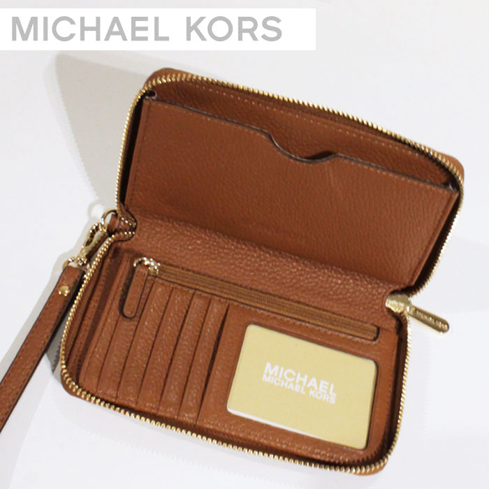1b4ea42c57cd Michael Kors MICHAEL KORS wallets wallet smahocase wallet shopping bag  35H5GFTE3L FULTON LUGGAGE cosmic iPhone6s case leather leather LEATHER