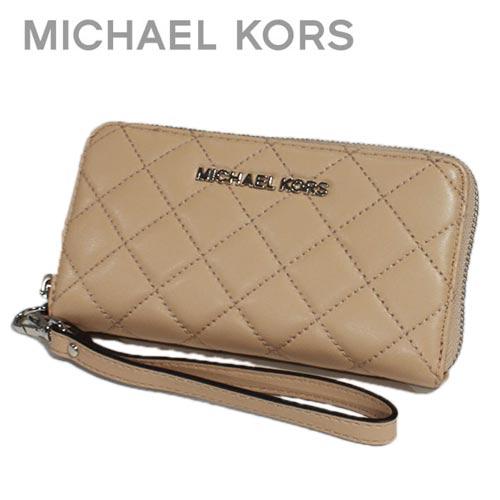 f3aed4d1a07e New Michael Kors MICHAEL KORS wallets purse smahocase shop bag 32F5SAHZ9L  BLUSH Brown ivory camel iPhone6s iPhone5s iPhone SE case leather leather  leather ...