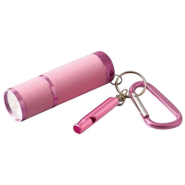 いつもバッグに入れておける。 緊急ホイッスル&LEDライト ガードマン 2セット防犯 コンパクト 笛