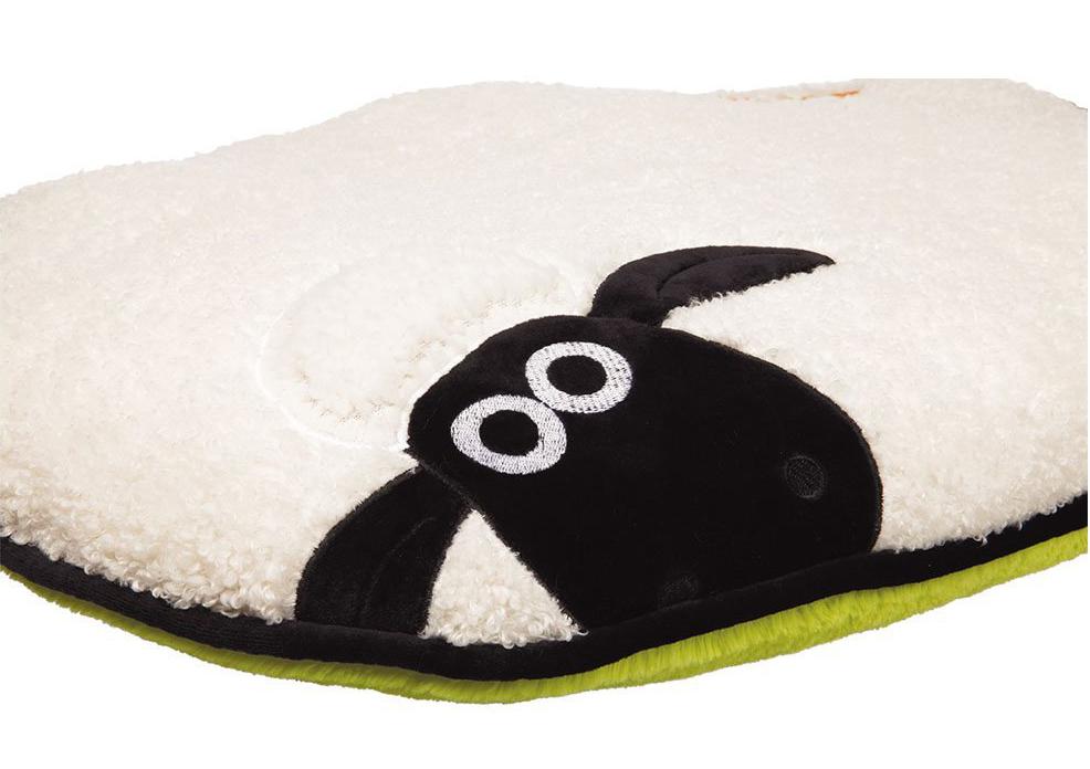 TRIXIE トリクシー ひつじのショーン Shaun the Sheep ベッド クッション ペット用 65×40cm 36786