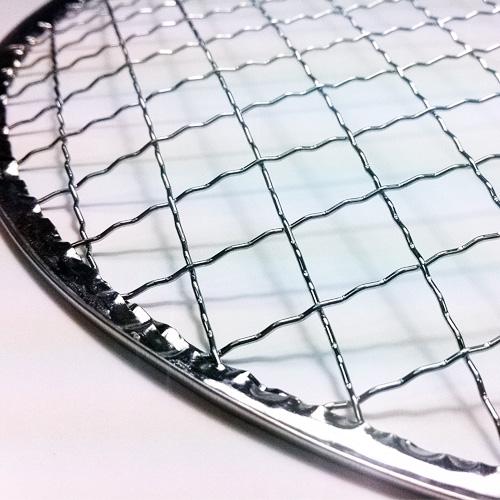 使い捨て焼き網(スチール製)丸網ドーム型 200枚セット※サイズをお選び下さい