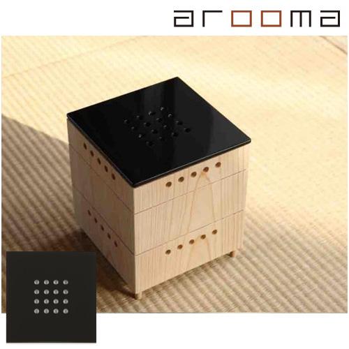 arooma(アルーマ)/KinoKoto ブラック熱も電気も使わないナチュラル脱臭芳香器脱臭と芳香のインテリア
