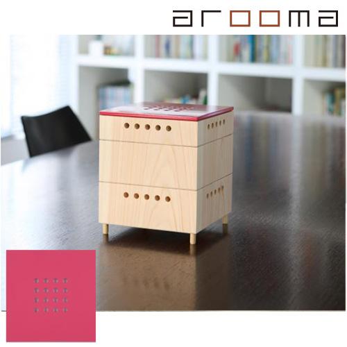 arooma(アルーマ)/KinoKoto ローズピンク熱も電気も使わないナチュラル脱臭芳香器脱臭と芳香のインテリア
