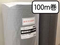 【送料無料】備長炭シート(炭シート) 100m巻(1ロール)【業務用】床下・畳下用臭いや湿気対策に!効果は半永久的!最安に挑戦中!見積可