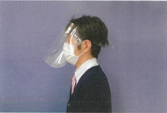 在庫あり 2営業日以内出荷 期間限定で特別価格 フェイスシールド 10枚セット 飛沫対策 ウイルス対策 花粉対策 配送員設置送料無料 透明 男女兼用 大人用 保護マスク フェイスカバー フェイスガード 洗える