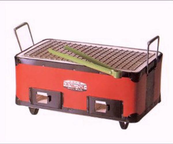 キンカの珪藻土 角型コンロ(七輪) B4W375×D215×H175mmアウトドアでのバーベキューに最適!炭火で美味しさUP