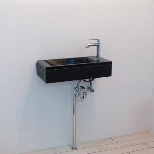 【SMP-14】スチームパンク 洗面化粧台セット 縞鋼板