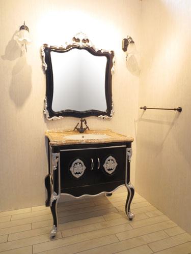 洗面化粧台セット ヴィクトリアン |【VIC-3】