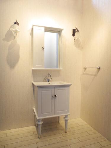 洗面化粧台セット ヴィクトリアン |【VIC-5】