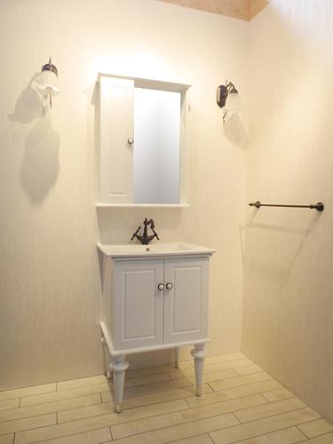 洗面化粧台セット ヴィクトリアン おしゃれ W610 |【VIC-6】