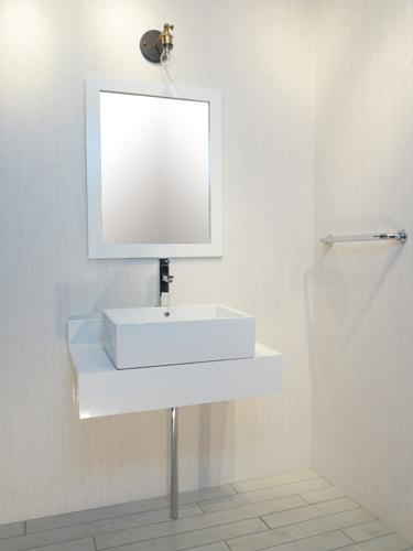 【MIN-4】ミニマリズム 洗面化粧台セット