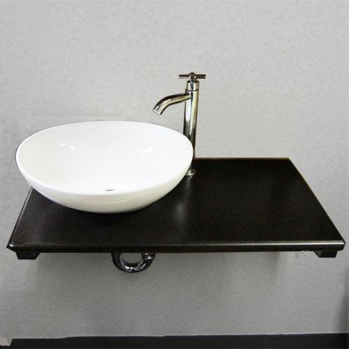 洗面台セット 【Eセット34a】 省スペース 銀セット INK-0504071Hset