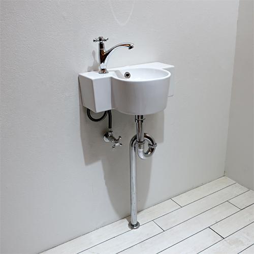 洗面ボウルセット お得 壁付け W405×D280 | 品番【Eセット106】