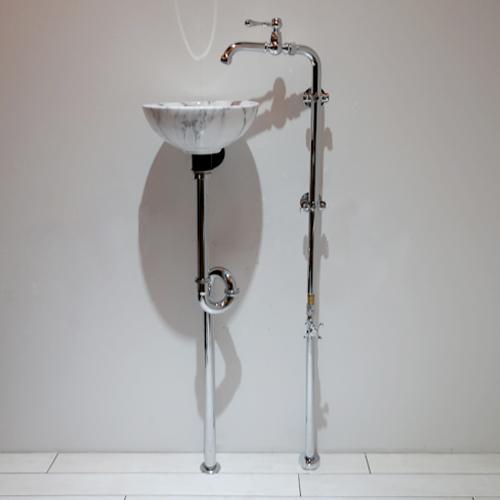 【SMP-18】スチームパンク 洗面化粧台セット