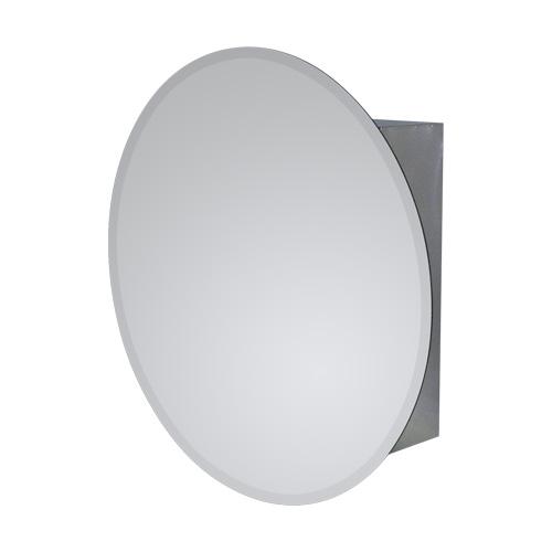 ミラーキャビネット正円タイプ 810(鏡・洗面化粧台棚・収納・鏡扉)