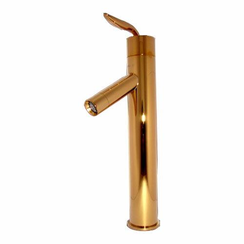期間限定今なら送料無料 お洒落でユニークな水栓蛇口です 洗面ボール 洗面台用蛇口混合水栓 ゴールド 定番キャンバス 金 ATTA1801bg