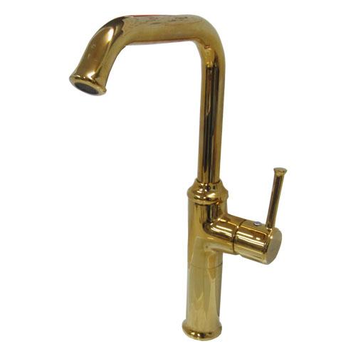 洗面ボウル・洗面台用蛇口混合水栓 金 INK-03030241G