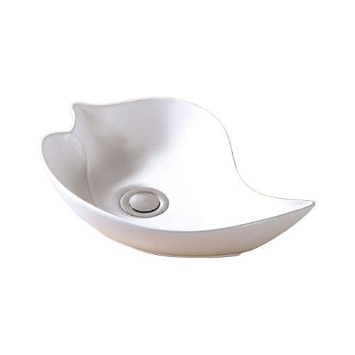 小さい陶器洗面ボウル(おしゃれな手洗い器・洗面台・小型・手洗器・トイレ用・オンカウンターシンク)INK-0405017G