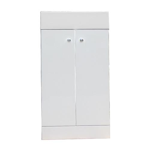 手洗器 壁付け コンパクト 人工大理石 白 W400×D225×H750 INK-0502011H