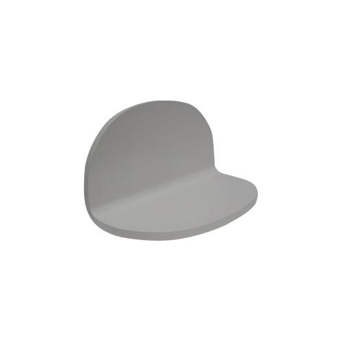 洗面化粧台(洗面台・棚) 白 W450×D250×H250 INK-0504046G