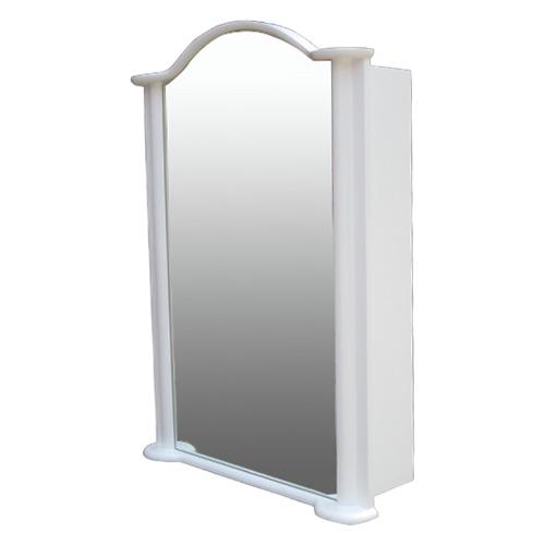 ミラーキャビネット(右開口) (洗面所・水まわり・鏡・収納・インテリア・おしゃれ・PVC) 白・ホワイト INK-0702013H W670×D230×H930