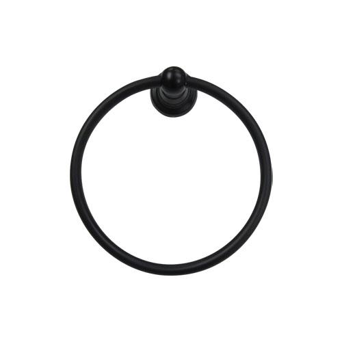 銅製のため錆びにくいです タオルリング 黒 アイアン調 トイレ 洗面所 INK-0801012G 誕生日 お祝い 当店一番人気